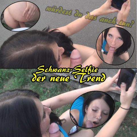 Schwanz-Selfie! Der neue Trend!